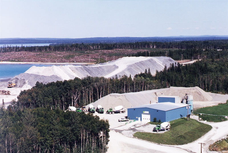 20th anniversary of our concrete plant located on the Agnico-Eagle mining site
